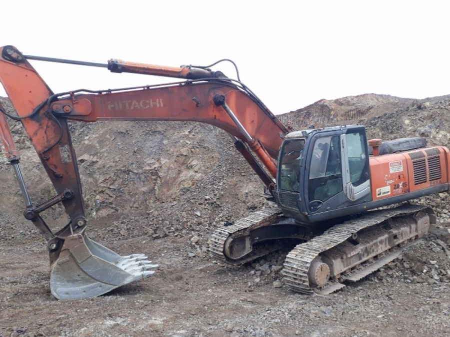 Used Excavator 2008 Hitachi ZX350LC for Sale - 1