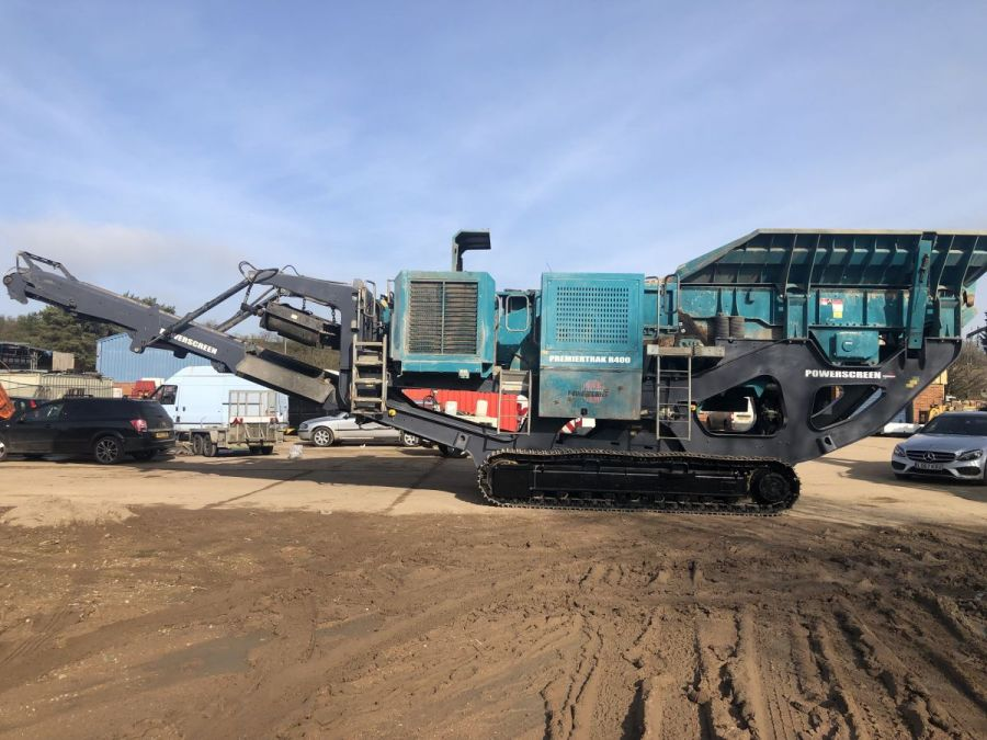 Used Crusher 2015 Powerscreen Premiertrak R400 for Sale - 2