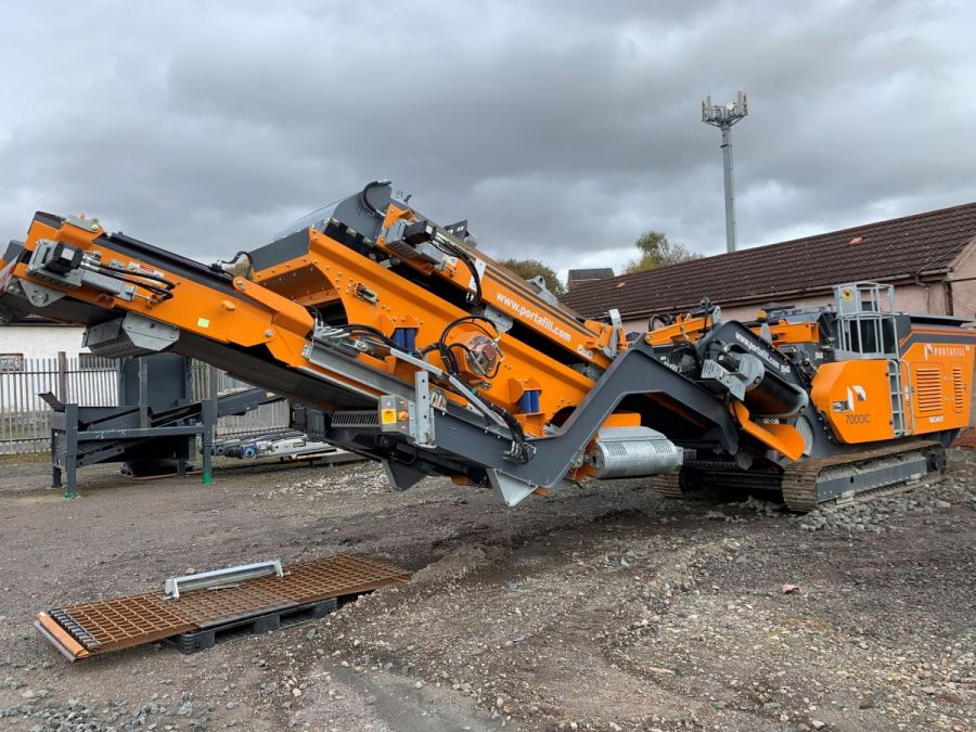 Used Crusher 2018 Portafill 7000ICR for Sale - 1