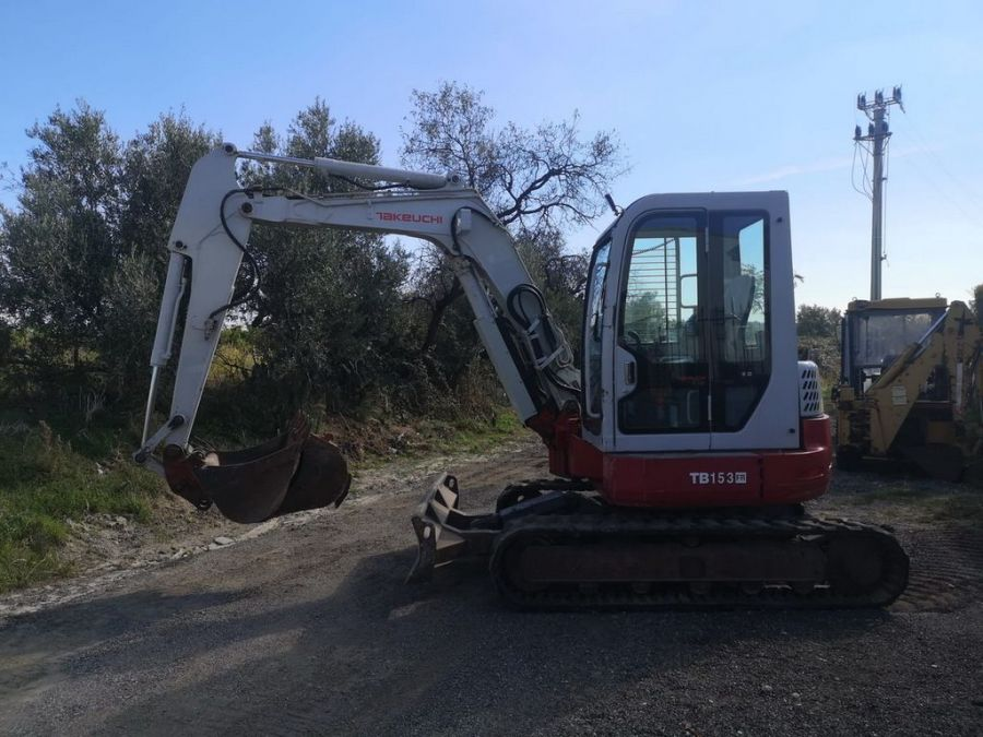 Used Excavator 2013 Takeuchi TB153FR for Sale - 2