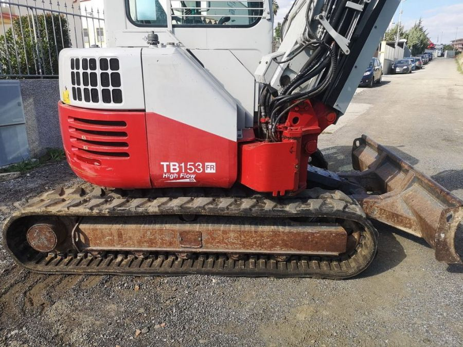 Used Excavator 2013 Takeuchi TB153FR for Sale - 3