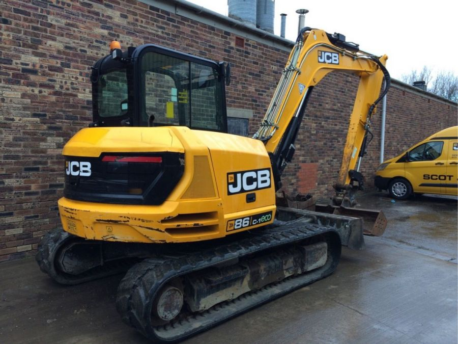 Used Excavator 2015 JCB 86C-1 for Sale - 4 - Thumbnail