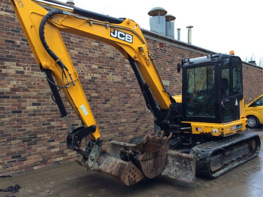 Used Excavator 2015 JCB 86C-1 for Sale - 1 - Thumbnail