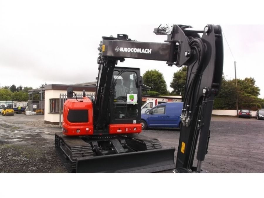 New Excavator 2018 Eurocomach ES90ZT for Sale - 1