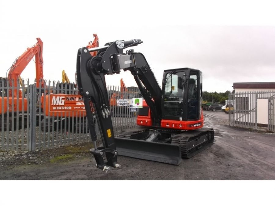 New Excavator 2018 Eurocomach ES90ZT for Sale - 5