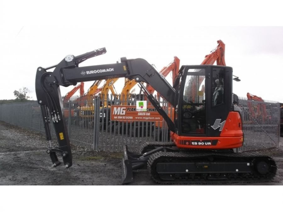 New Excavator 2018 Eurocomach ES90ZT for Sale - 4