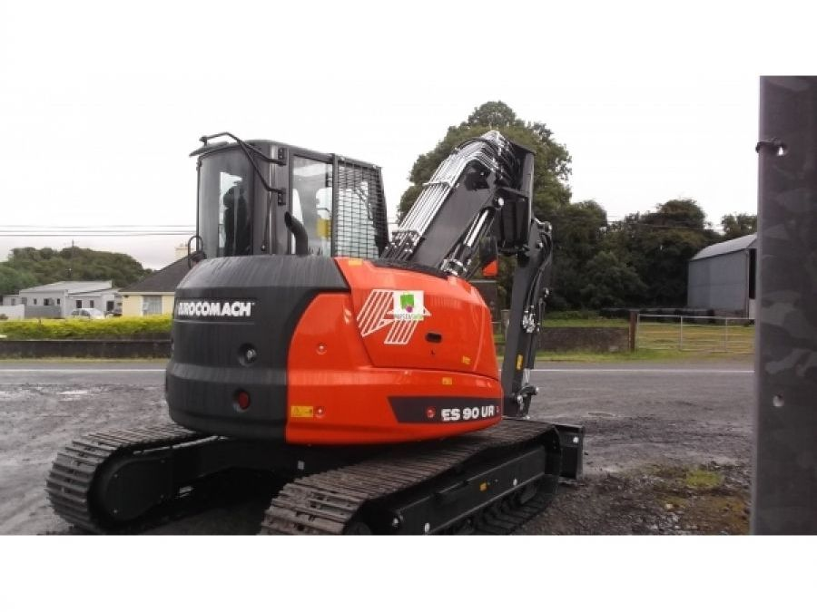 New Excavator 2018 Eurocomach ES90ZT for Sale - 2