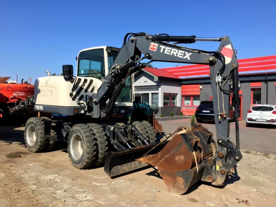 Used Excavator 2013 Terex TW70 for Sale - 1 - Thumbnail