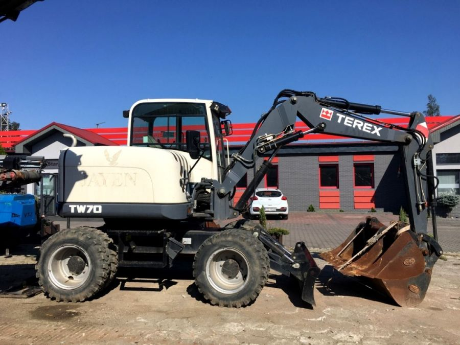 Used Excavator 2013 Terex TW70 for Sale - 2 - Thumbnail