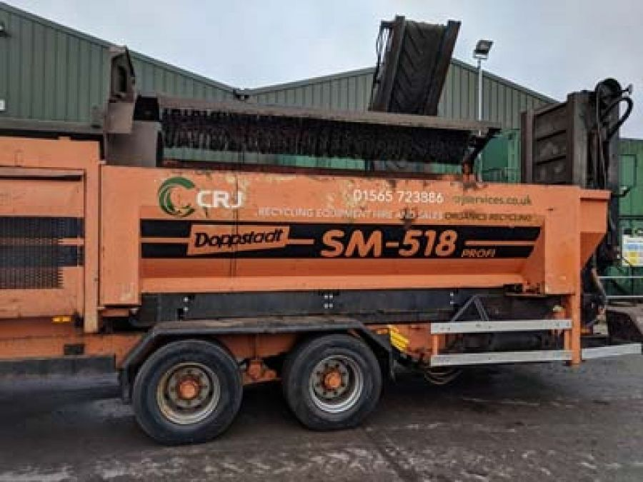 Used Waste Systems 2006 Doppstadt SM518 for Sale - 1
