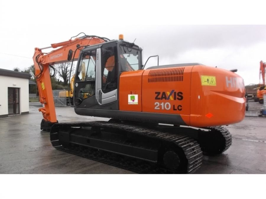 Used Excavator 2010 Hitachi ZX210 for Sale - 1