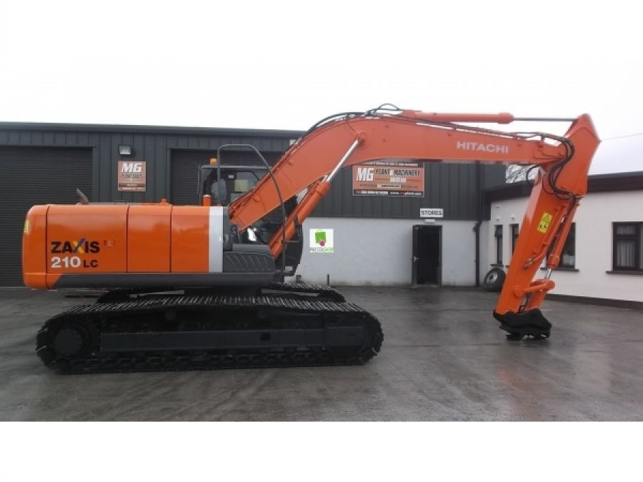 Used Excavator 2010 Hitachi ZX210 for Sale - 2