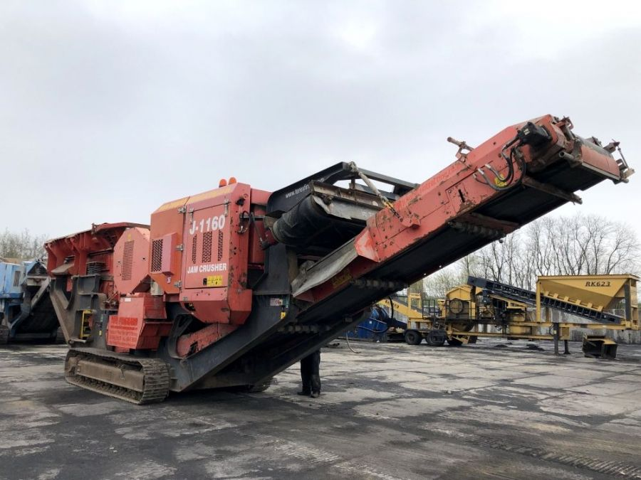 Used Crusher 2013 Terex Finlay J-1170 for Sale - 1
