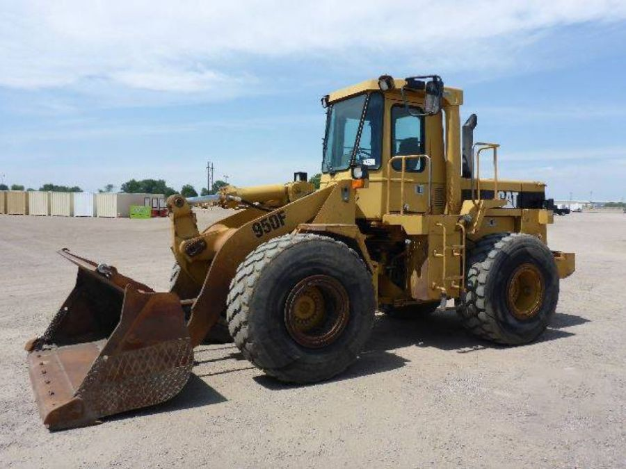 Used Wheel Loader 1991 Caterpillar 950 for Sale - 3