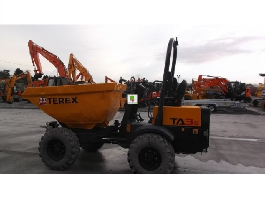 Used Dump Truck 2012 Terex TA3S for Sale - 2