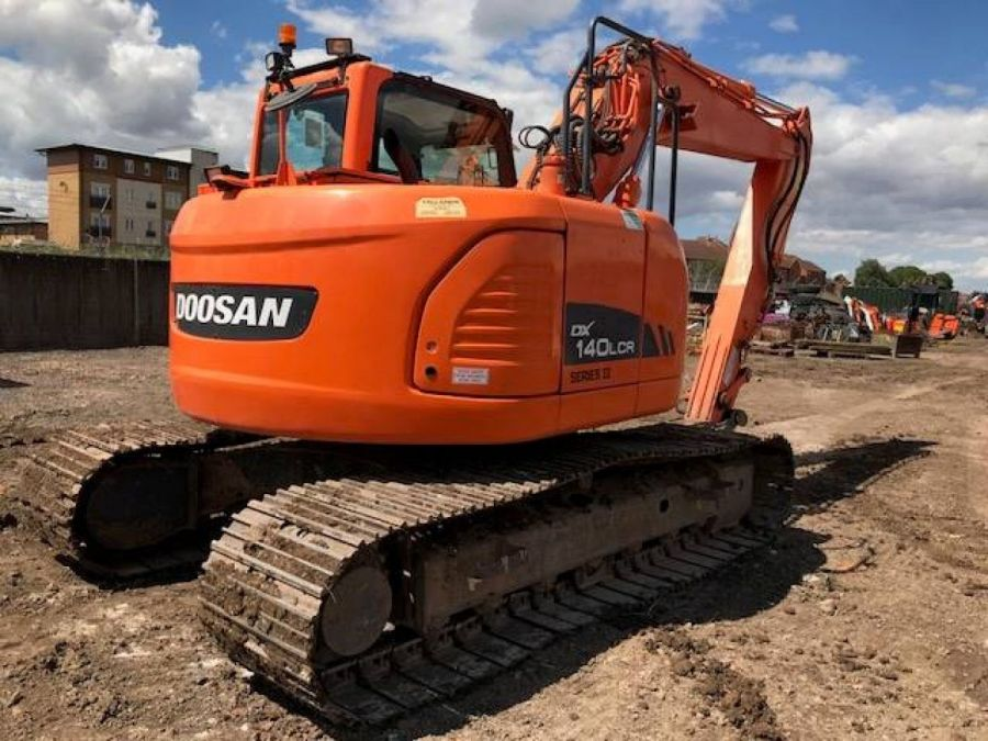 Used Excavator 2013 Doosan DX140LC for Sale - 3 - Thumbnail