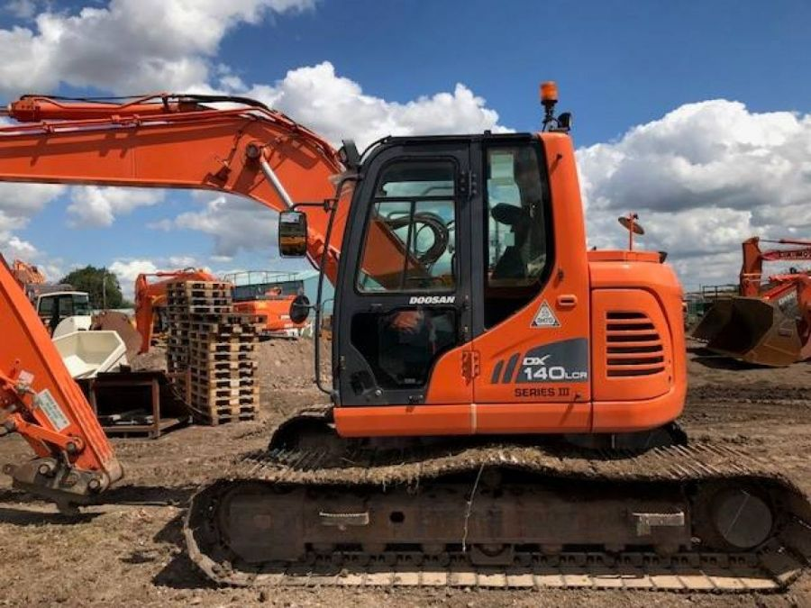 Used Excavator 2013 Doosan DX140LC for Sale - 1 - Thumbnail
