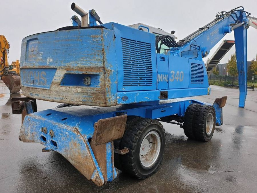 Used Material Handler 2005 Fuchs MHL340 for Sale - 3