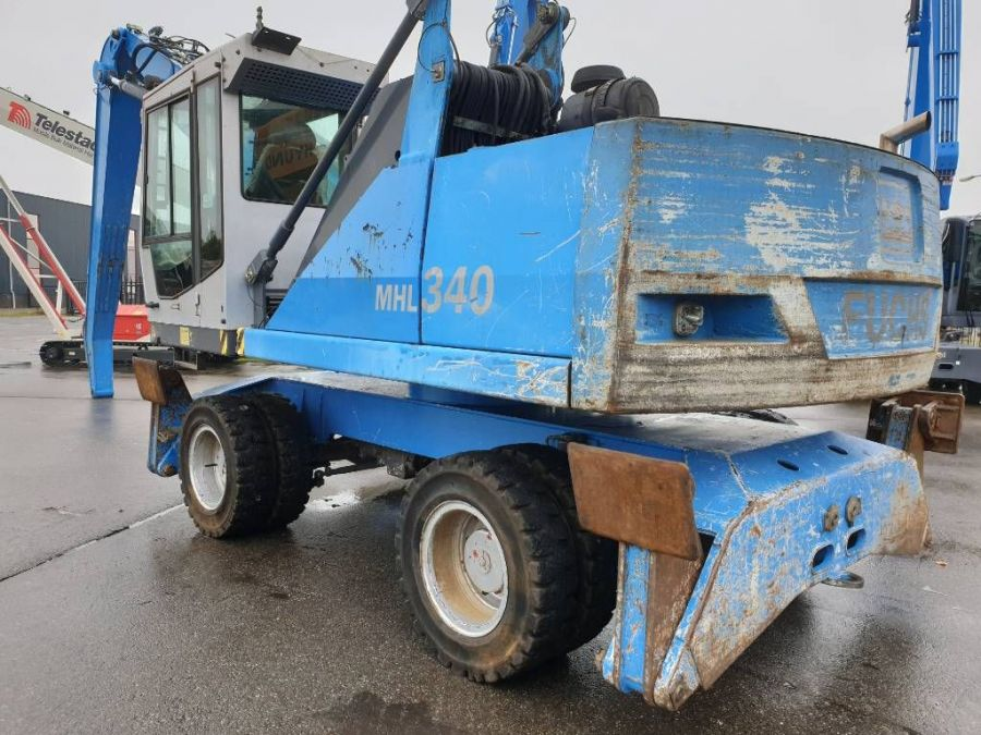 Used Material Handler 2005 Fuchs MHL340 for Sale - 1
