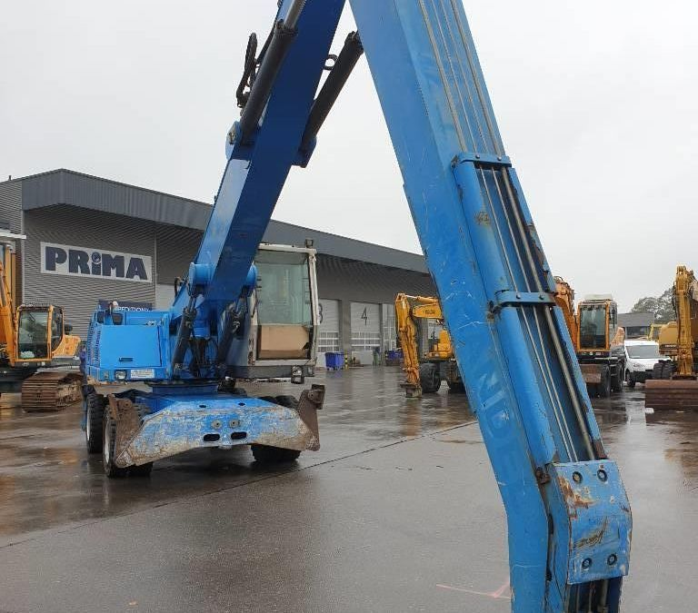 Used Material Handler 2005 Fuchs MHL340 for Sale - 5