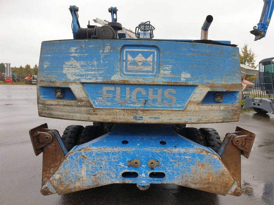 Used Material Handler 2005 Fuchs MHL340 for Sale - 2