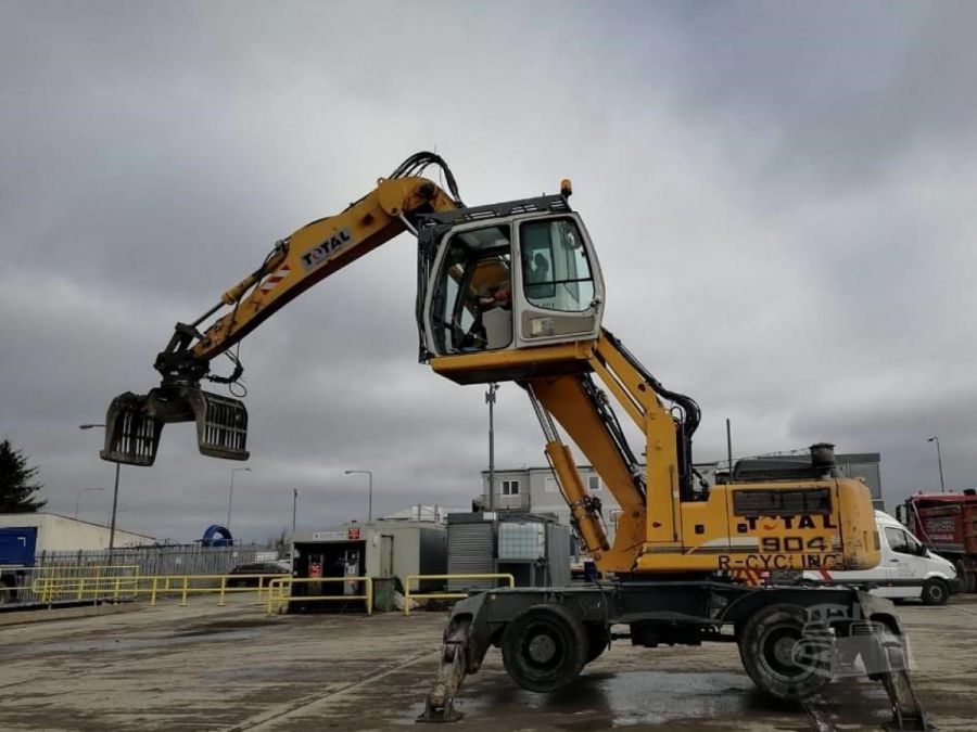 Used Material Handler 2011 Liebherr A 904 Litronic Material Handler for Sale - 1