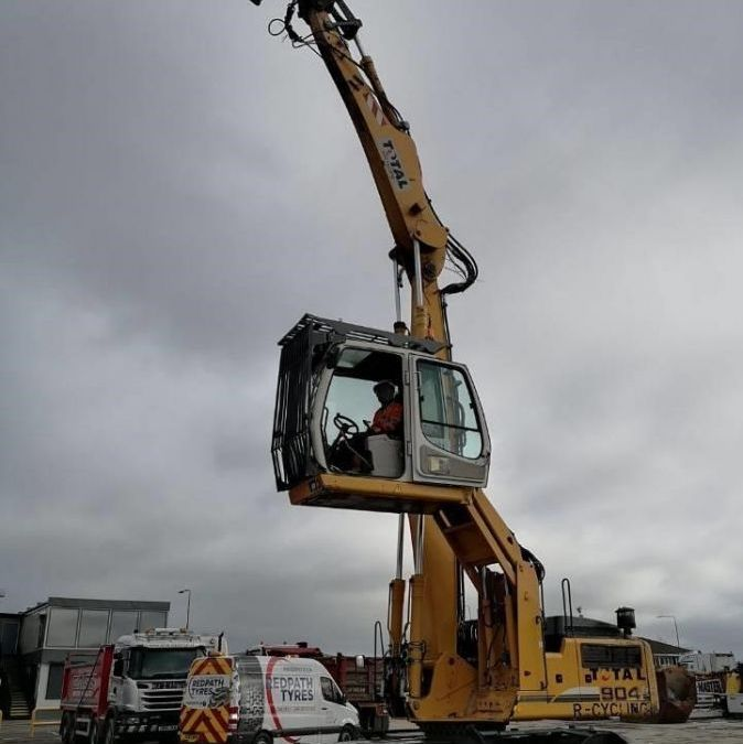 Used Material Handler 2011 Liebherr A 904 Litronic Material Handler for Sale - 4