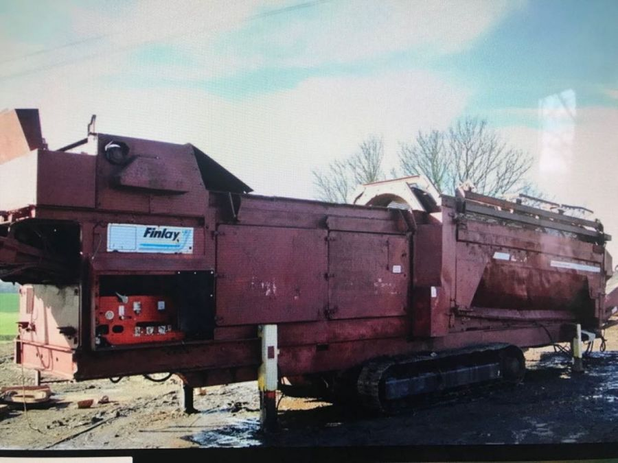 Used Mobile Trommel 2002 Terex Finlay 770 for Sale - 1