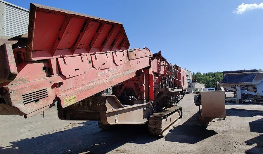 Used Crusher 2008 Terex Finlay C-1540 for Sale - 2