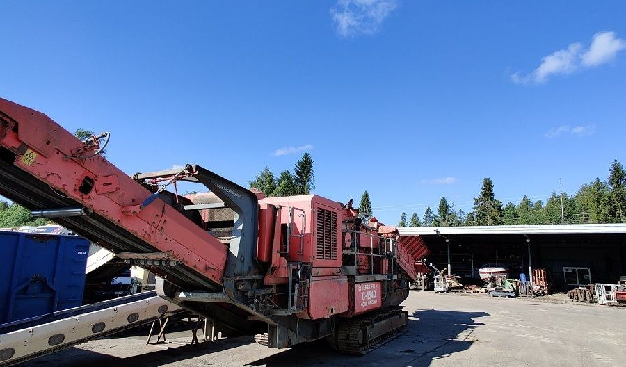 Used Crusher 2008 Terex Finlay C-1540 for Sale - 3