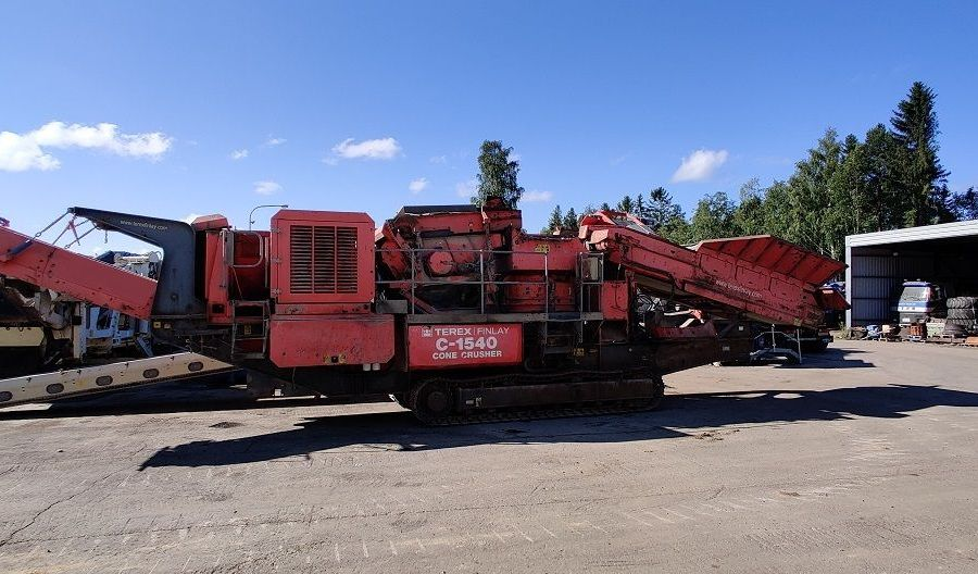 Used Crusher 2008 Terex Finlay C-1540 for Sale - 1