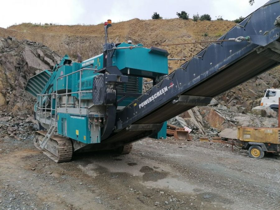 Used Crusher 2016 Powerscreen 1000 Maxtrak for Sale - 2