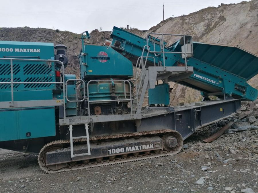 Used Crusher 2016 Powerscreen 1000 Maxtrak for Sale - 3