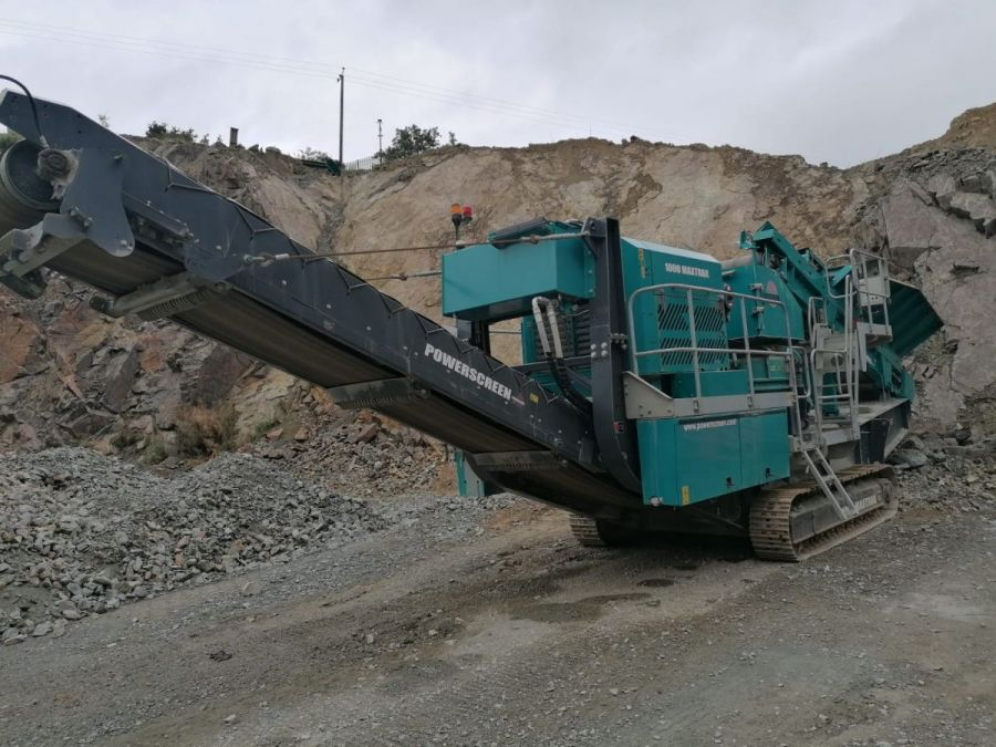 Used Crusher 2016 Powerscreen 1000 Maxtrak for Sale - 1
