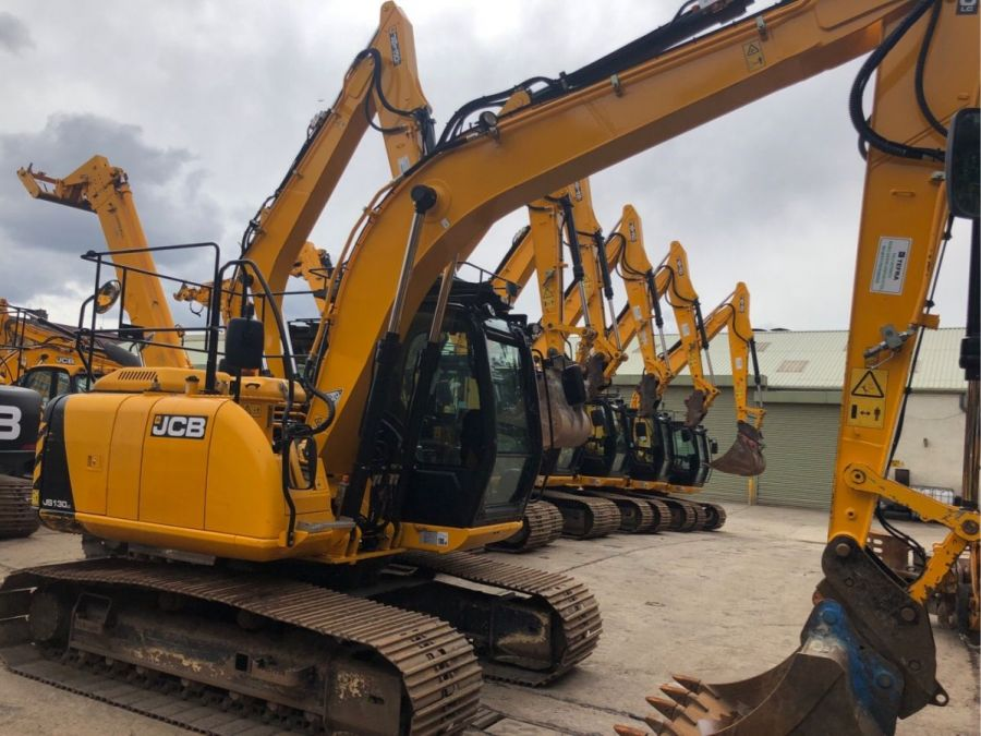 Used Excavator 2014 JCB JS 130 for Sale - 2
