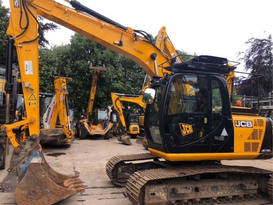 Used Excavator 2014 JCB JS 130 for Sale - 1