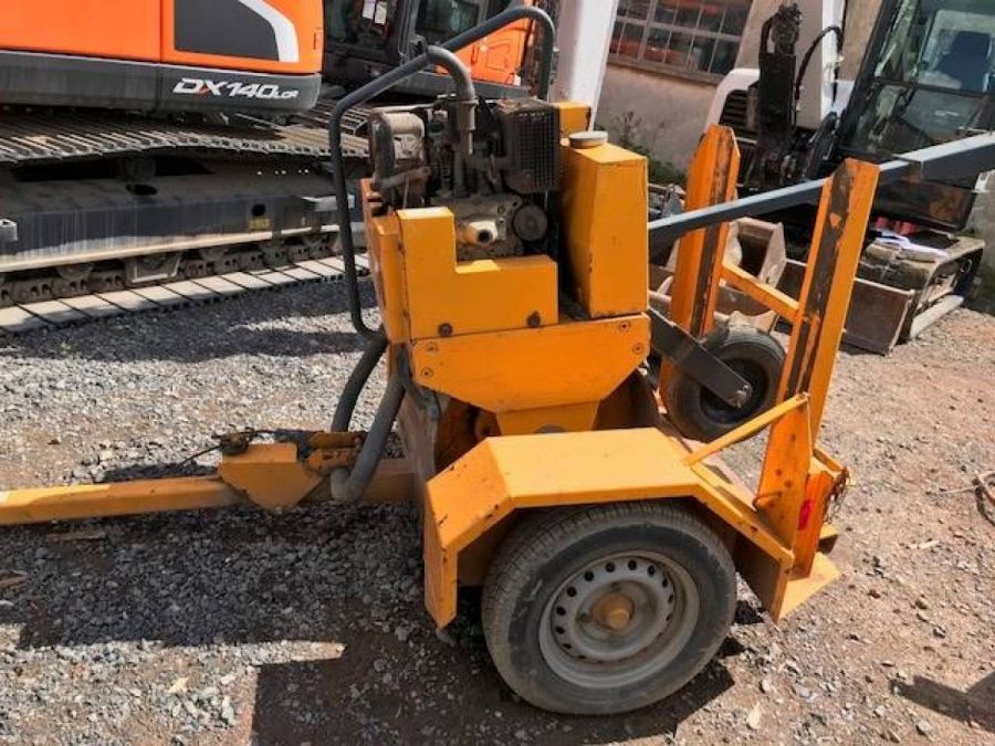 Used Roller 2012 Terex MBR71 & Trailer for Sale - 1