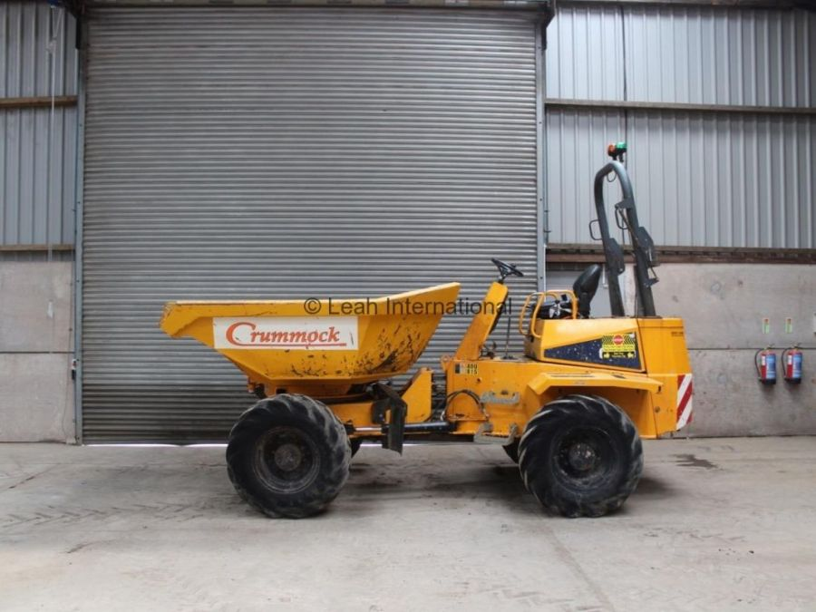 Used Dump Truck 2010 Thwaites 6T Straight for Sale - 3