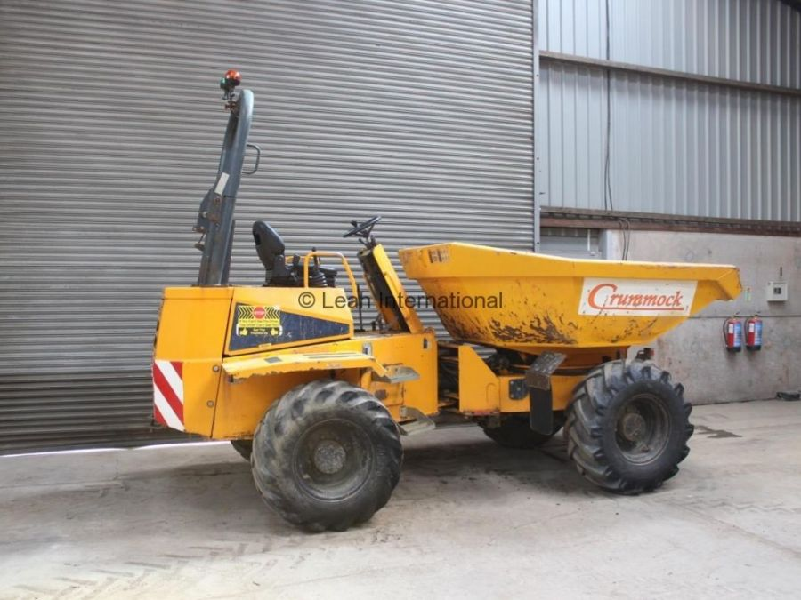 Used Dump Truck 2010 Thwaites 6T Straight for Sale - 4
