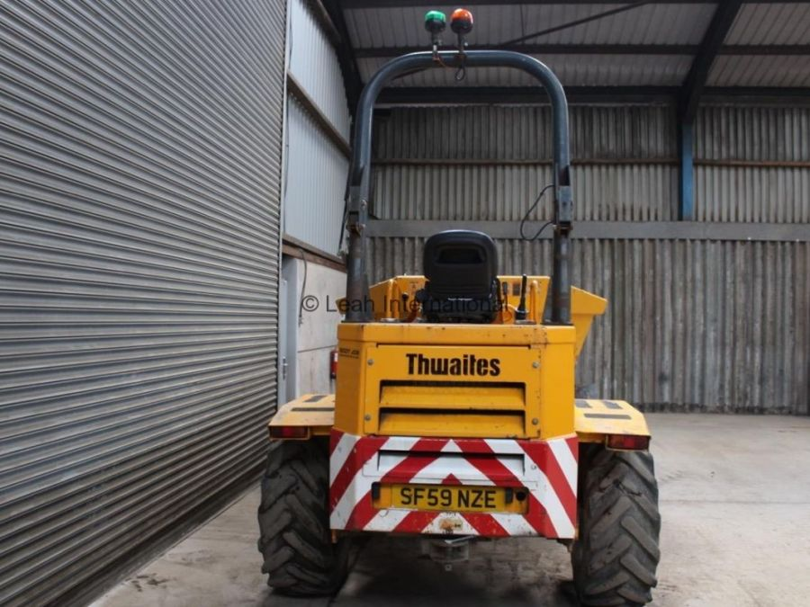 Used Dump Truck 2010 Thwaites 6T Straight for Sale - 5