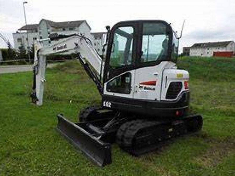 New Excavator 2018 Bobcat E62 for Sale - 1