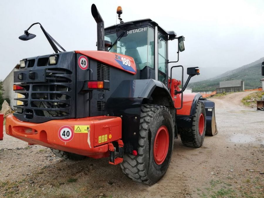Used Wheel Loader 2011 Hitachi ZW180 for Sale - 2