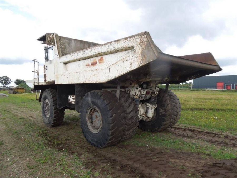 Used Dump Truck 1998 Terex TR35 for Sale - 4