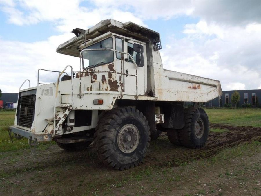 Used Dump Truck 1998 Terex TR35 for Sale - 1
