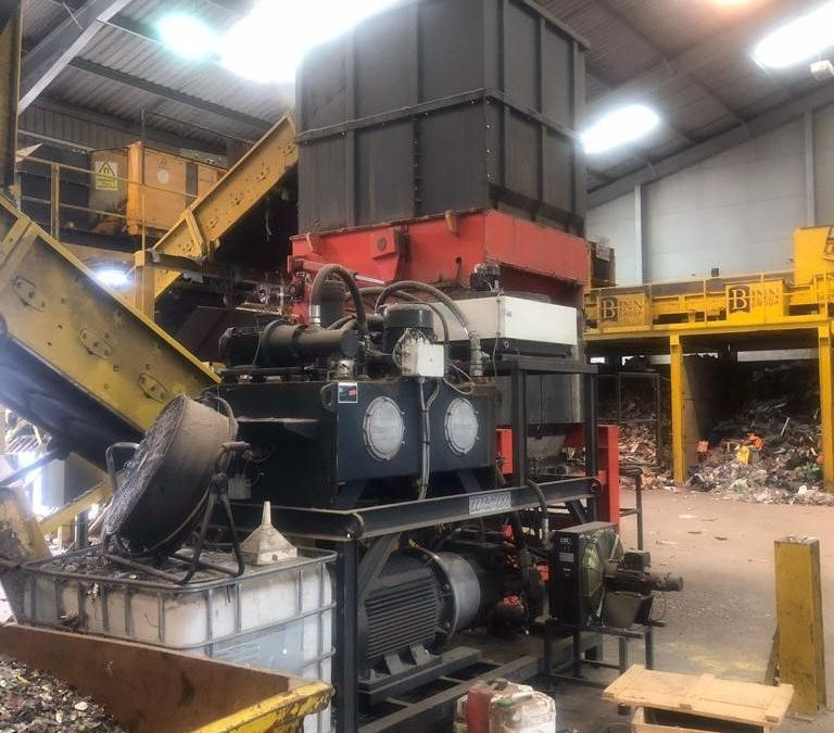 Used Slow Speed Shredder 2018 Weima WPL2000 for Sale - 4