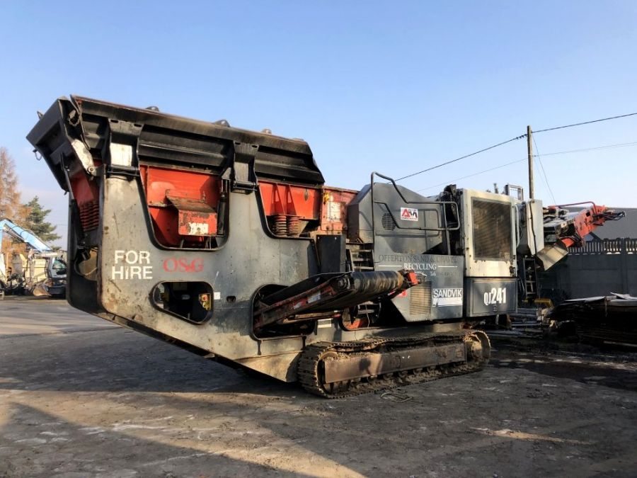 Used Crusher 2011 Sandvik QJ 241 for Sale - 1