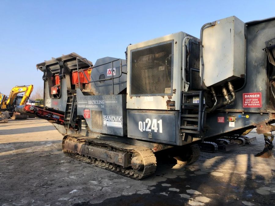 Used Crusher 2011 Sandvik QJ 241 for Sale - 2