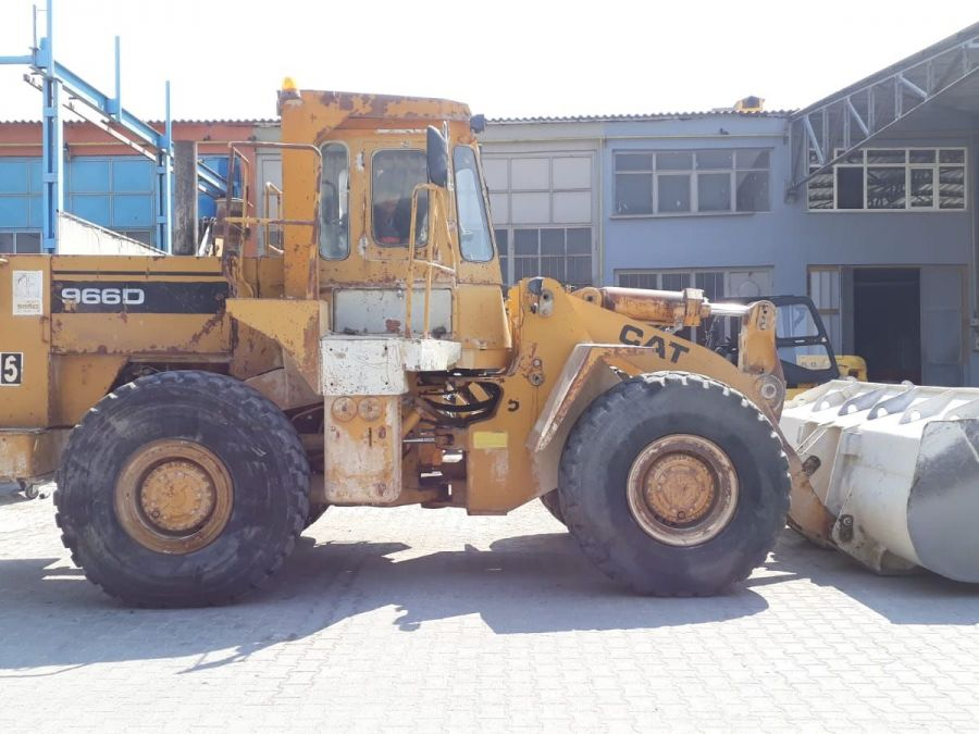Used Wheel Loader 1987 Caterpillar 966D for Sale - 1