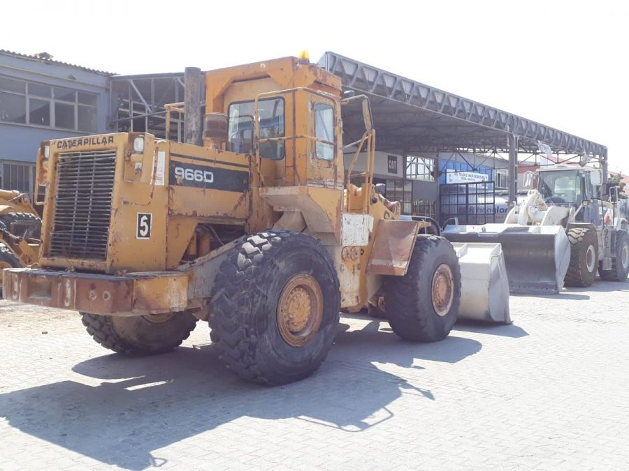 Used Wheel Loader 1987 Caterpillar 966D for Sale - 2