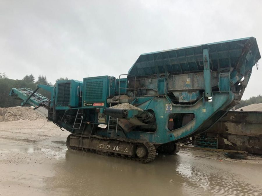 Used Crusher 2011 Powerscreen XA400S for Sale - 1